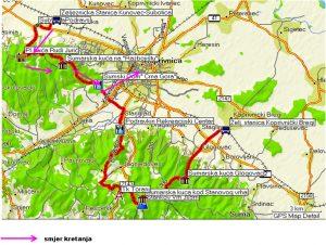Planinarska trasa za kestenijadu